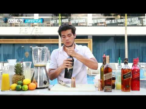 Here Is Erwan Heussaff Mixing Up A Summer Cocktail For You Part 1