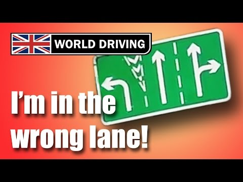 I'm in the wrong lane! Driving test tips - Learning to drive