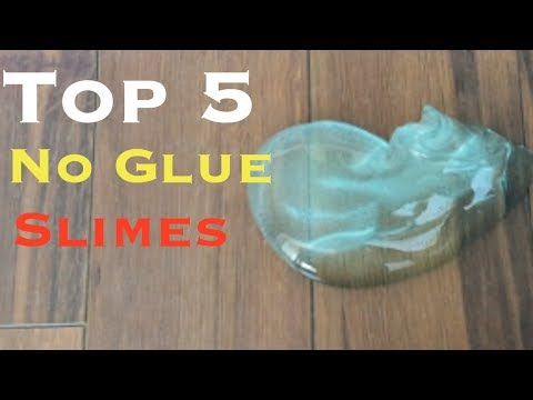 how to make glossy slime without clear glue