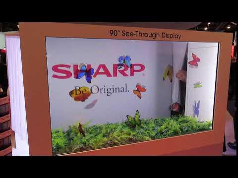 Sharp Transparent TV CES 2020
