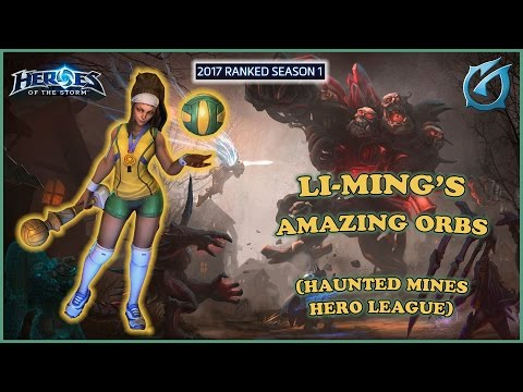 Grubby | Heroes of the Storm | Li-Ming's Amazing Orbs - HL - 2017 S1 - Haunted Mines