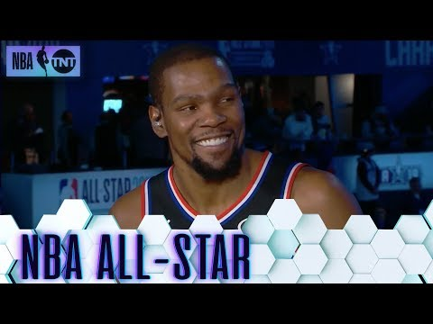 Kevin Durant Joins the Desk Following His MVP Performance   All-Star 2019
