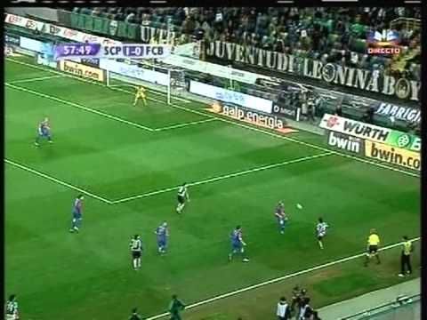Sporting - 2 x Basel - 0 de 2007/2008 Uefa