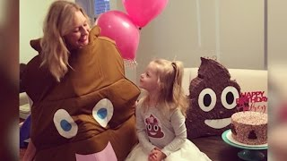 Little girl insists on poop-themed birthday party