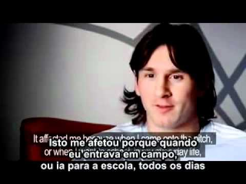 Lionel Messi - Impossible Is Nothing em Espanhol (Legenda ...