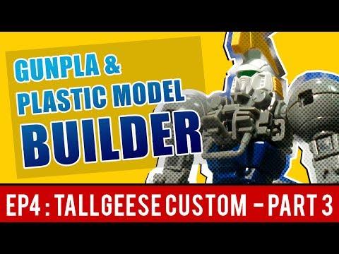 กันพลา&พลาสติกโมเดล EP4 Part 3 : โมดิฟาย [MG] Tallgeese II แบบมือสมัครเล่น - พ่นสีกระป๋อง