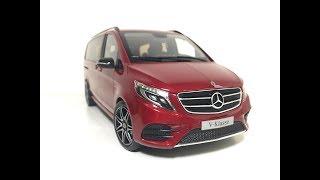 видео Модель минивэна Vito от Mercedes-Benz
