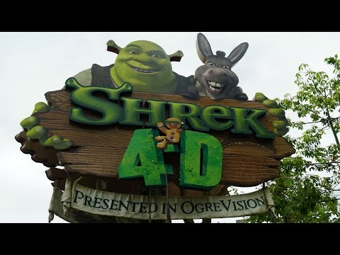 Shrek 4D Pre-Show/Main Theater Lighting  - Universal Studios Hollywood