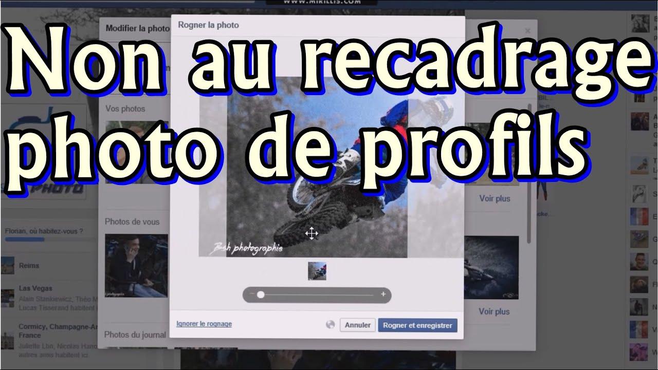 Comment Ne Pas Recadrer Sa Photo De Profil Facebook Bshphoto