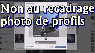 Comment ne pas recadrer sa photo de profil facebook [BshPhoto]