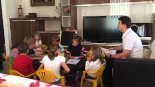 Учим с детьми молитву
