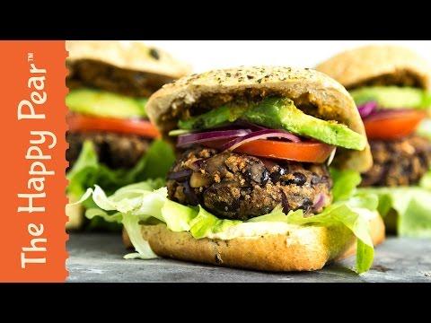 5 Minute Burger | CHEAP EASY VEGAN