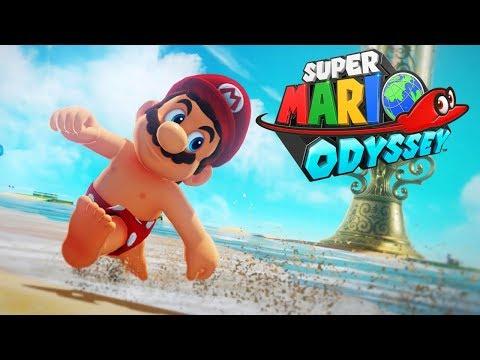 HERE WE GOOO! - Live Plays - Super Mario Odyssey - Walkthrough Playthrough