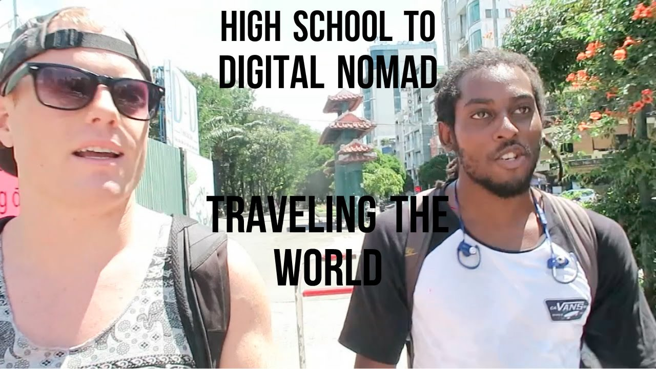 From High School to Full-Time Digital Nomad in 1 Year ??? Podcast Interview w/ Ocean Lawrence