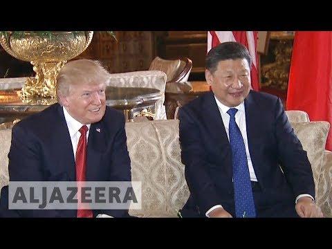 North Korea, trade relations top Trump's agenda in China