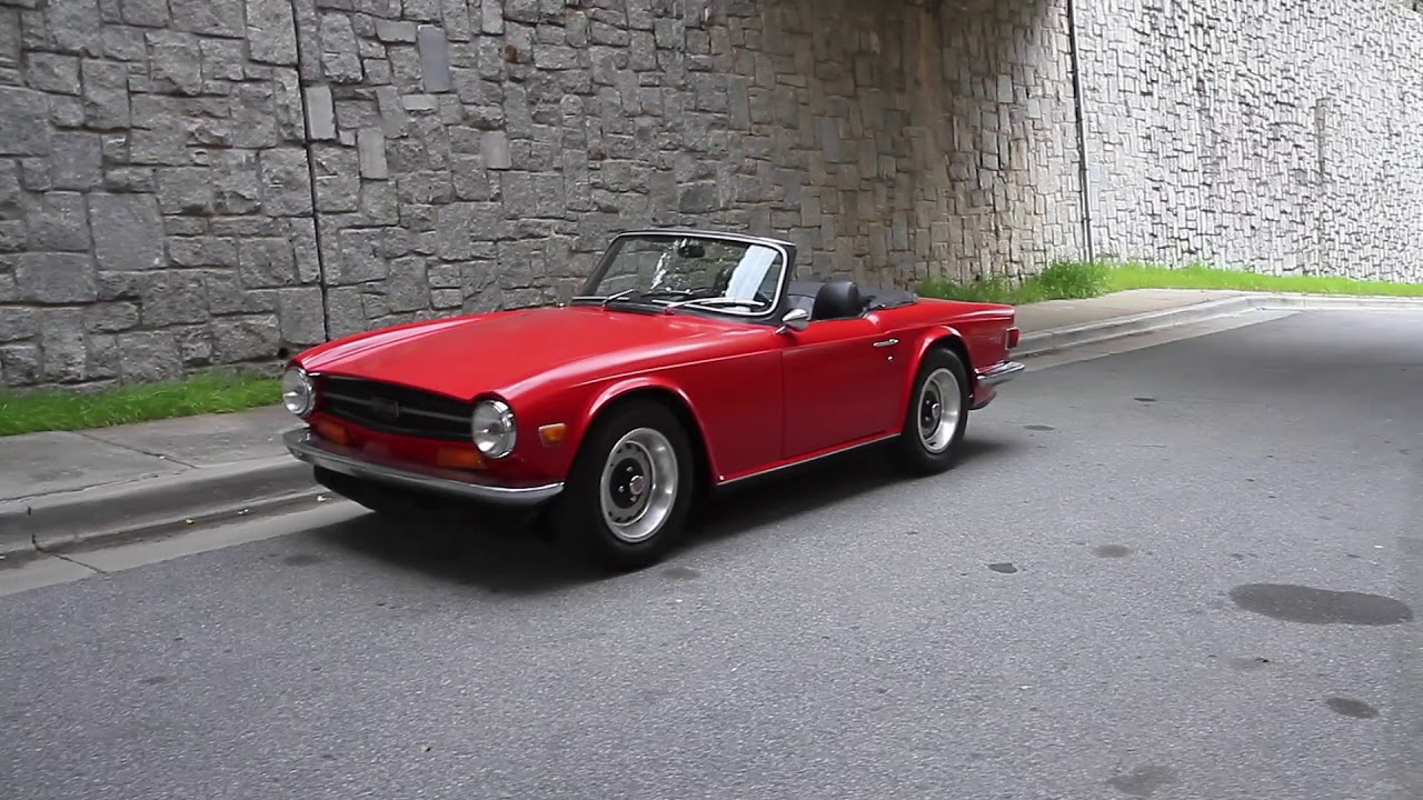 1972 Triumph TR6 for sale - YouTube