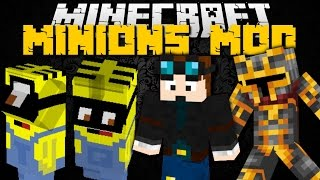 Minecraft: MINIONS MOD ft. DanTDM (Summon Despicable Me Minions) Mod Showcase