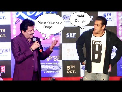 Salman khan and Udit Narayan Making Fun of Each Other salman Best Moment thumbnail