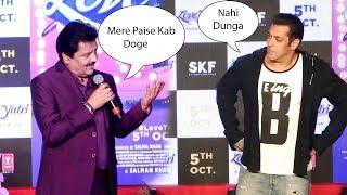 Salman khan and Udit Narayan Making Fun of Each Other salman Best Moment