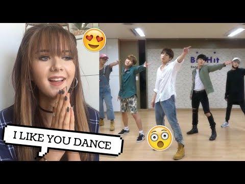 BTS I LIKE IT PT 2  DANCE PRACTICE REACTION // ItsGeorginaOkay