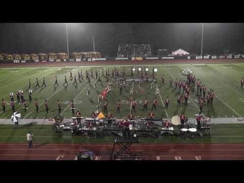 CHS Marching Ram Band at Music In Motion 2016, Cheshire, CT