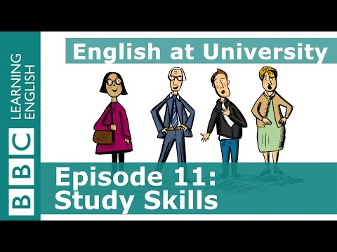 English at University: 11 - Learn phrases to introduce a suggestion