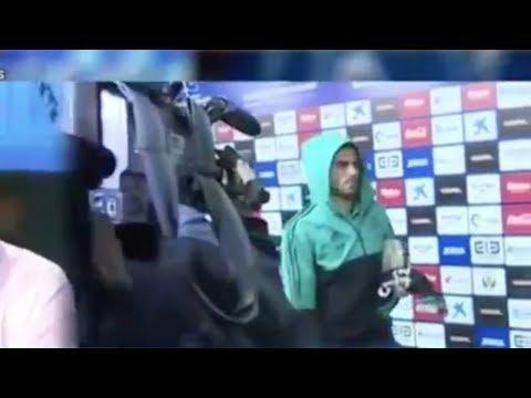 ¡Vaya cara! Así abandonó Ceballos el estadio tras jugar 28 segundos ◉ Leganes 1 - R.Madrid 3 ◉ 2018
