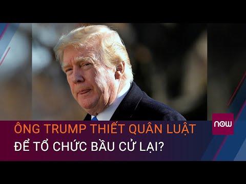 Cập nhật tình hình bầu cử Mỹ mới nhất : Ông Trump thiết quân luật để tổ chức bầu cử lại? | VTC Now