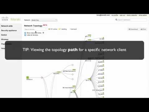 Demo Video - Meraki Topology