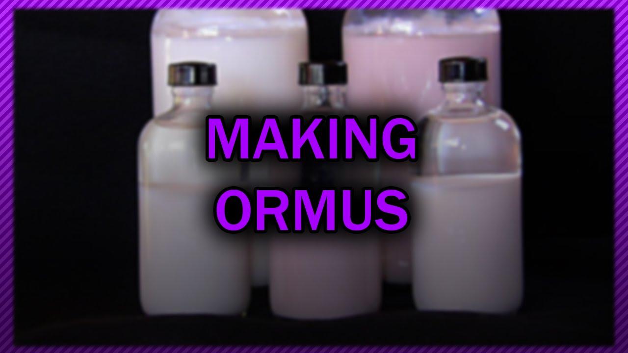 Making Ormus Youtube