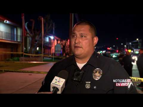Balaceras en North Hollywood - Noticias 62