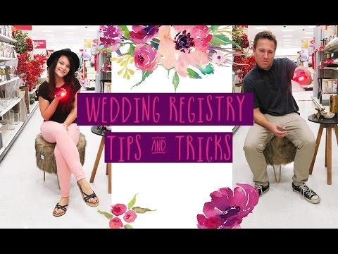 Wedding Registry Tips & Tricks