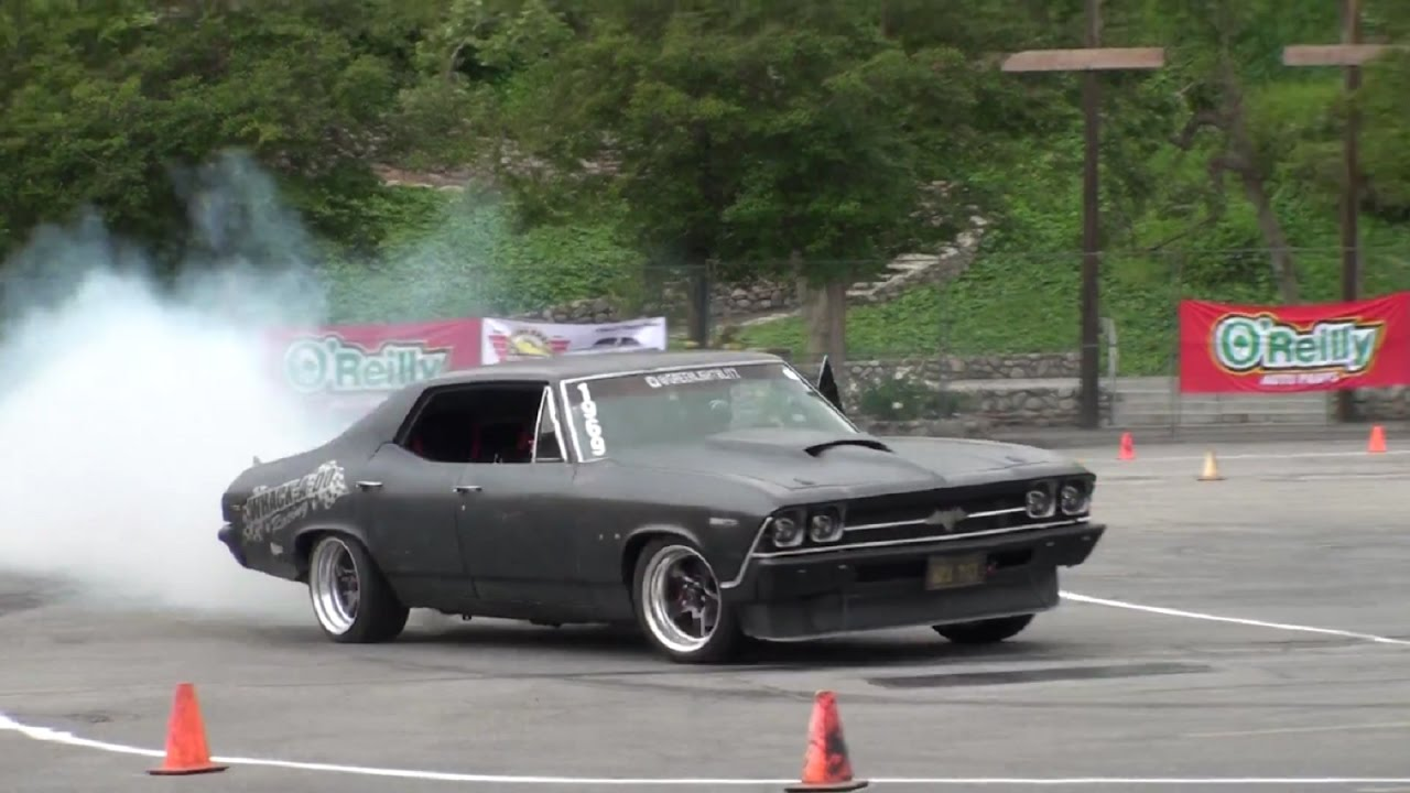 Best Cars For Autocross >> Street Machine Muscle Car Nationals 2017 Autocross