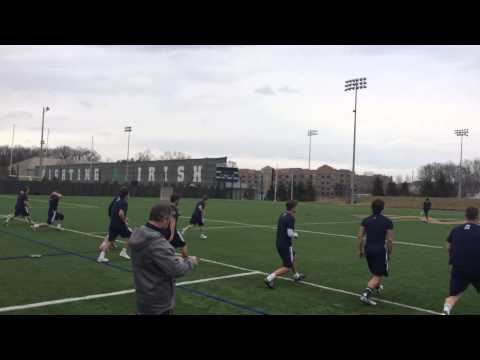 ND Strength: Post-Game Recovery Workout