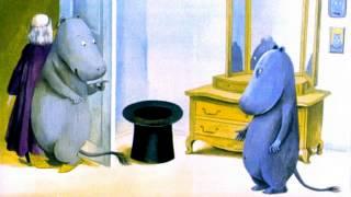 """Диафильм (звуковой) """"Муми-тролль и шляпа волшебника"""""""