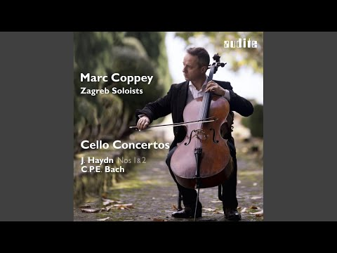 Cello Concerto in A Major, H. 439/Wq. 172: I. Allegro