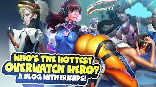 Okay now we're talking about hot Overwatch Heroes