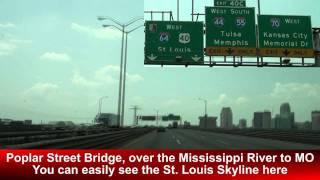 I-64 West: St. Louis, MO