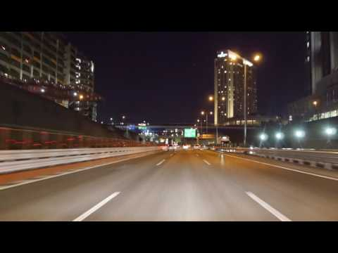 Tokyo Expressway night drive 4K 首都高 2017