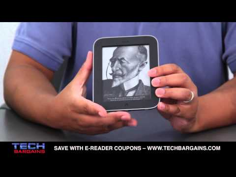 Barnes & Noble Nook Simple Touch With GlowLight E-Reader Unboxing (HD)