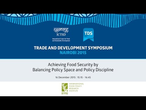 TDS LIVE | Achieving Food Security by Balancing Policy Space and Policy Discipline