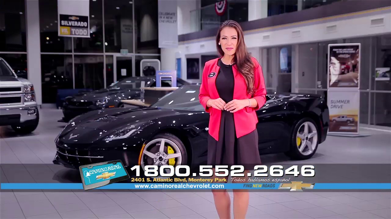 camino real chevrolet commercial - youtube