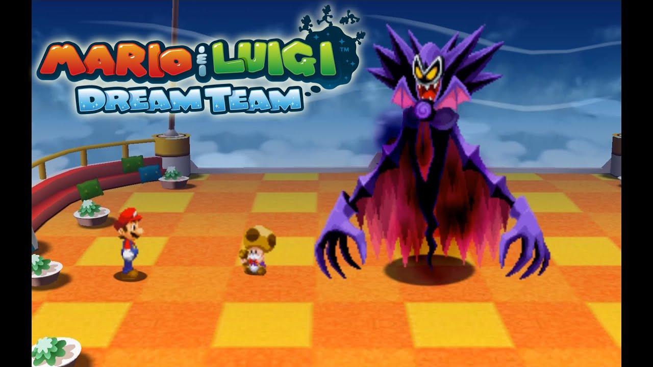 Mario Luigi Dream Team Citra Emulator Cpu Jit 1080p Nintendo 3ds Youtube