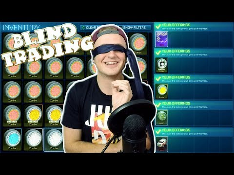 MOST INSANE BLIND TRADING!!! | Blind Trading With Fans In Rocket League #9