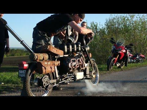 Паровой мотоцикл 6