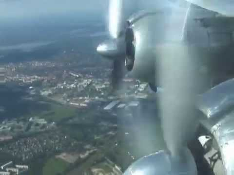THE SIGHT & THE SOUND 1/2 : L-1049 Constellation N73544 inflight documentary from Berlin to Basel