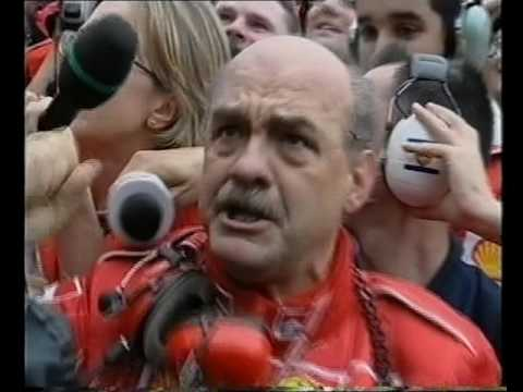 Michael Schumacher wins the 2000 Formula One World Championship!