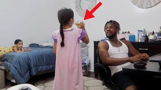 8 YEAR OLD DRINKING ALCOHOL PRANK ON MOM!