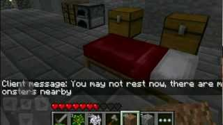 let s play minecraft pocket edition ipod ipad iphone android episode 3