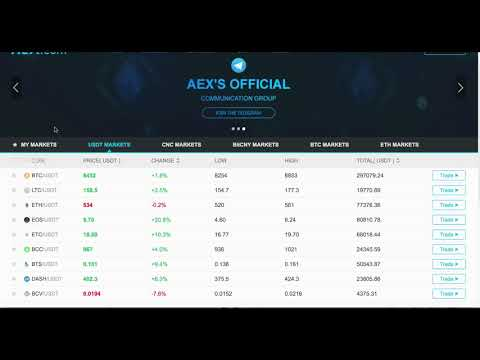 aex bitcoin exchange review